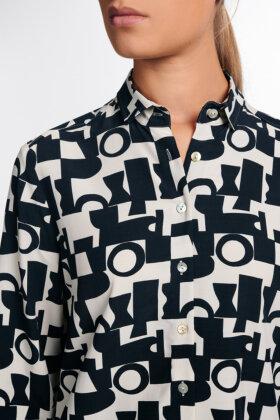 ETERNA - Elegant Skjorte - Classic Fit - Sort