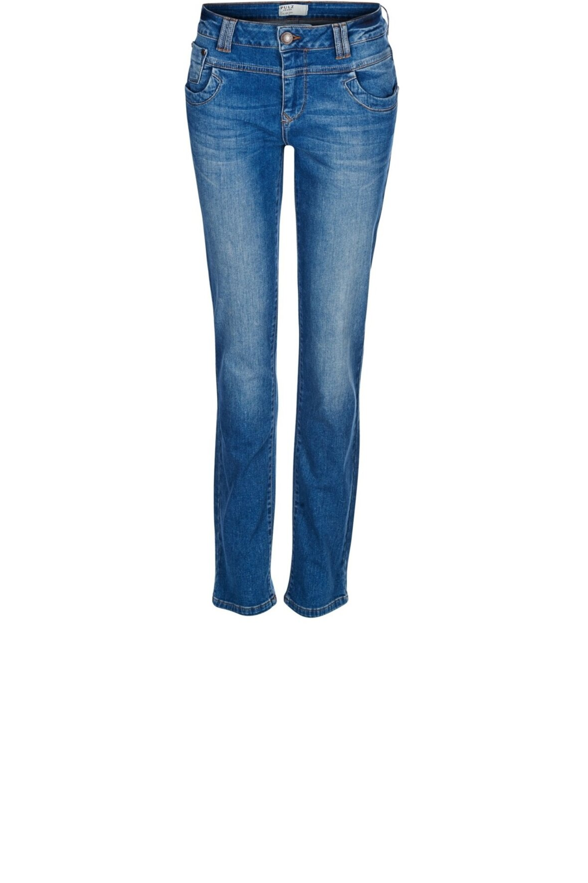 ed711d3b063 Pulz Tenna Highwaist Jeans, buks, 50201802 - Hos Lohse