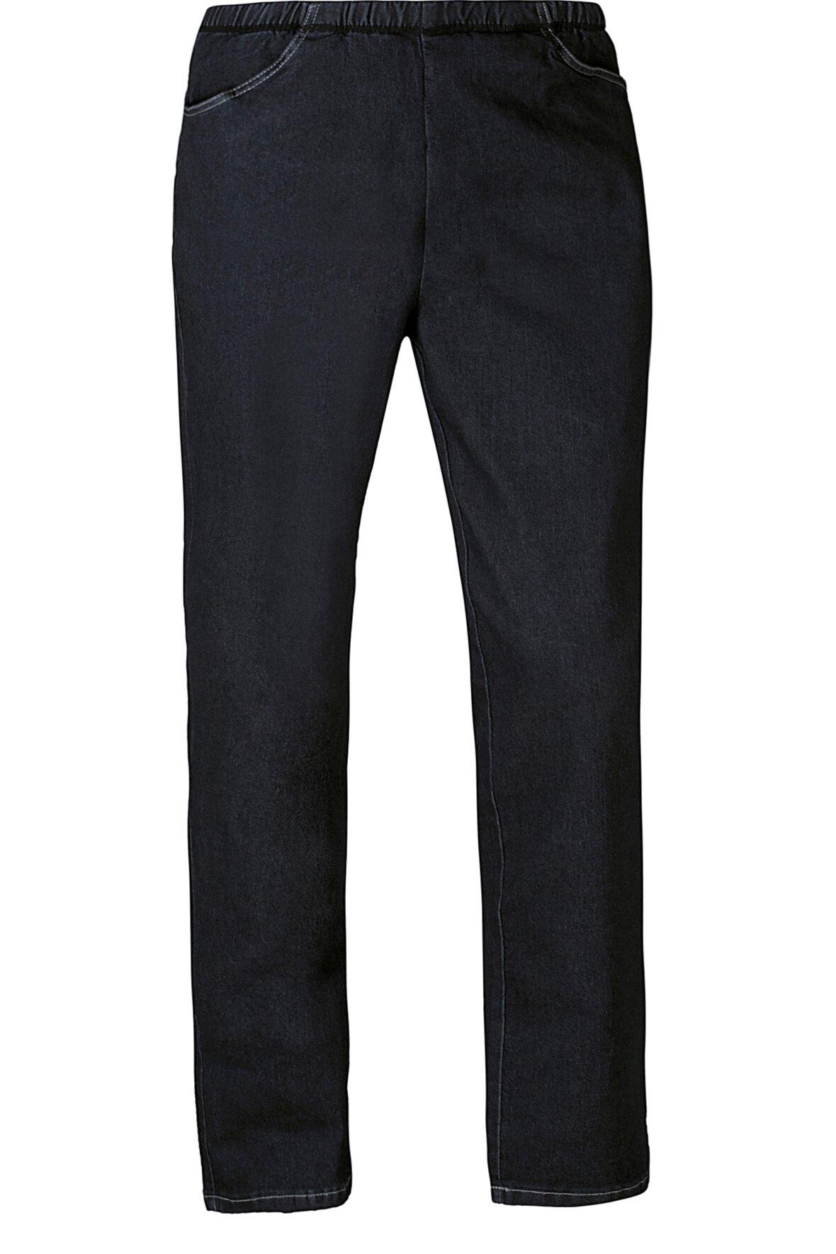 Zhenzi Jazzy Relaxed Fit jeans Jeans med elastik i livet