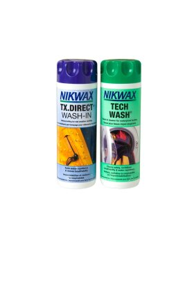 NIKWAX - Sampak Tech Wash og Tx.Direct Wash-In