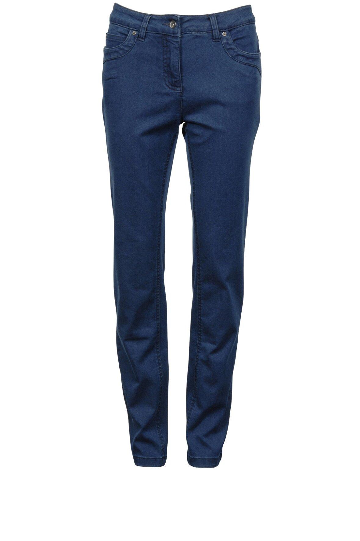 Brandtex Victoria Regular Fit, sort denim jeans