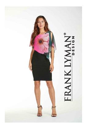 FRANK LYMAN - Flora Cape Dress