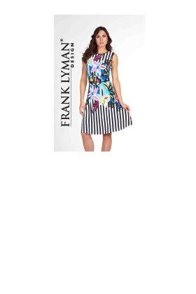 FRANK LYMAN - Cruise Flower Print Dress
