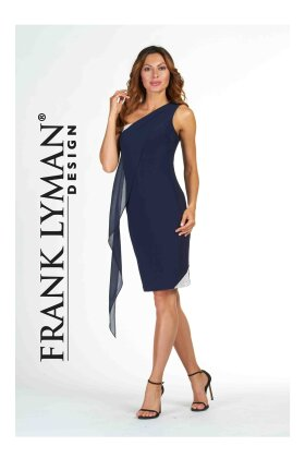 FRANK LYMAN - One Shoulder Dress