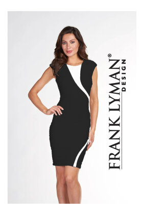FRANK LYMAN - Black & White Dress