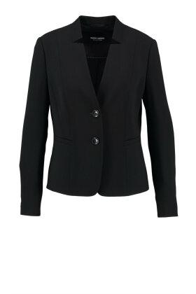 GERRY WEBER - Blazer med Flot krave Sort
