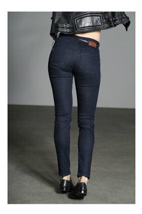 PULZ - Carmen Highwaist Skinny Jeans Mørk Denim