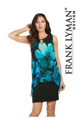 FRANK LYMAN - Floral Chiffon Dress
